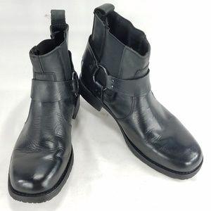 Eddie Moran EM610 Mens Rider Ankle Boots Shoes